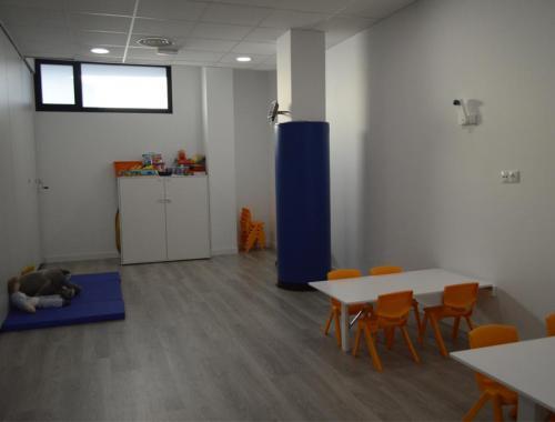 Aula 6 de la Escuela Infantil Projardin Valdebebas implantada por Afandecor.